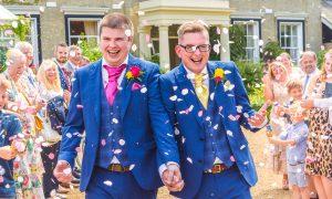 civil partnership wedding in Norfolk